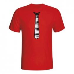 Majica Piano kravata