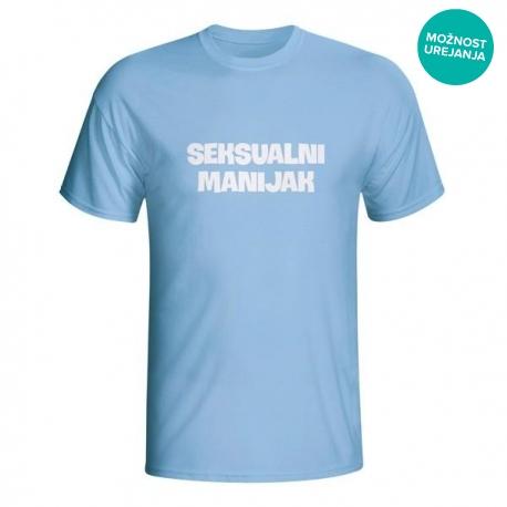 Moška majica Seksualni manijak
